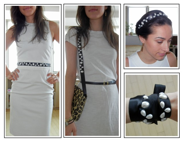 diy, pearls, ribbons, waist belt, bag, headband, bracelet,accessories, travel, packing