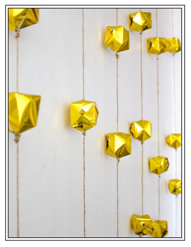 DIY| Origami Garland