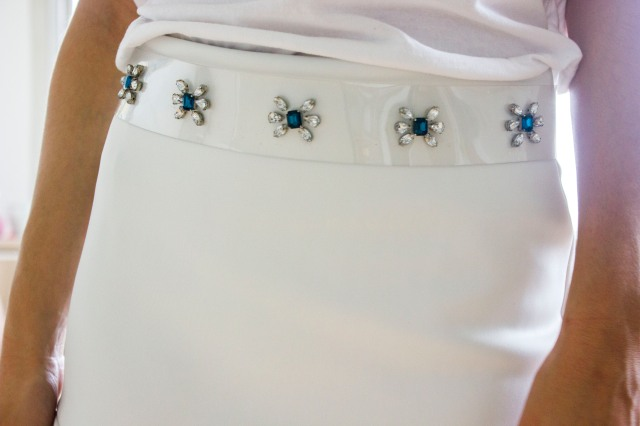 DIY| Rhinestone Belt