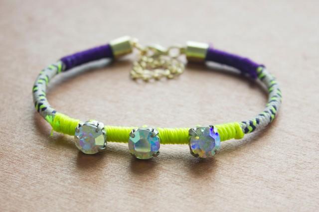DIY| Wrapped Bracelet