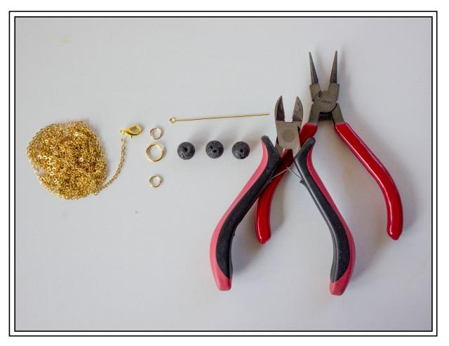 DIY  Black Lava Supplies