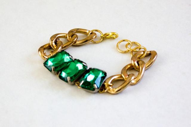DIY|Emerald Bracelet