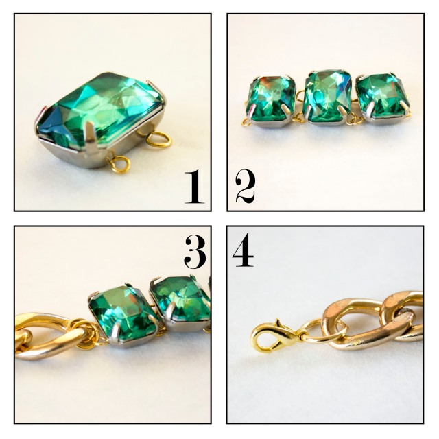 DIY| Emerald Bracelet