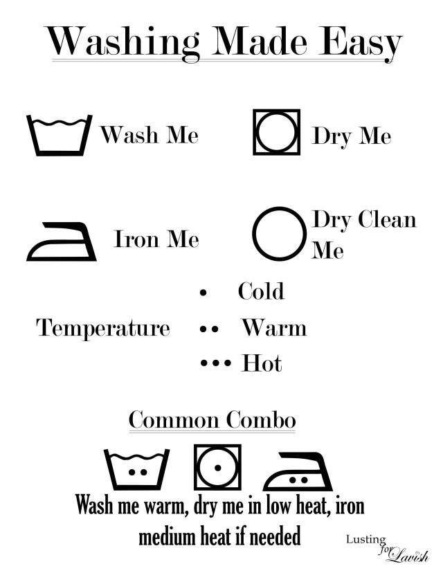 Wash Symbol Decoder