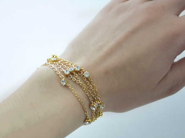 DIY| Delicate Layered Bracelet