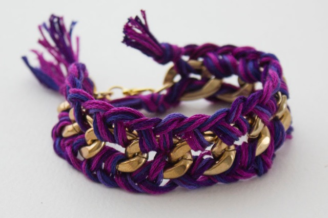 DIY| Radiant Orchid Bracelet